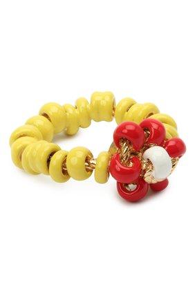 Женское кольцо BOTTEGA VENETA желтого цвета, арт. 649317/VAHU4 | Фото 1