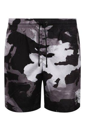 Мужские плавки-шорты DOLCE & GABBANA серого цвета, арт. M4B16T/HSMND | Фото 1