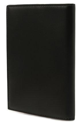 Мужской кожаная обложка для паспорта SAINT LAURENT черного цвета, арт. 607659/1JB0E | Фото 2