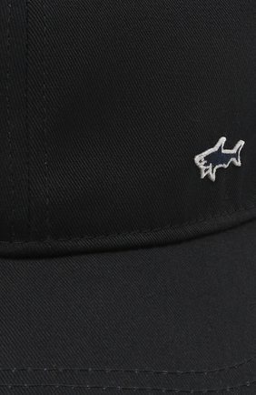Мужской хлопковая бейсболка PAUL&SHARK темно-синего цвета, арт. 21417103/FMB   Фото 3
