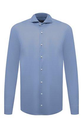 Мужская хлопковая рубашка VAN LAACK голубого цвета, арт. M-PER-L/180031 | Фото 1