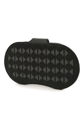 Мужской кожаный футляр для очков SERAPIAN черного цвета, арт. SRM0SMSL715916A | Фото 2