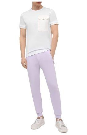 Мужская хлопковая футболка DOLCE & GABBANA белого цвета, арт. G8MW5Z/G7YJF | Фото 2
