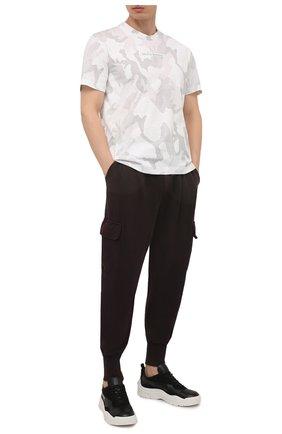 Мужская хлопковая футболка DOLCE & GABBANA белого цвета, арт. G8MN0Z/G7YEC | Фото 2