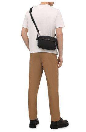 Мужская текстильная сумка GIORGIO ARMANI черного цвета, арт. Y2M243/YI69E | Фото 2