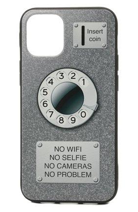 Мужской чехол для iphone 12 mini MISHRABOO серого цвета, арт. Taksofon 12 mini | Фото 1