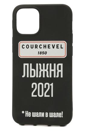 Чехол для iphone 12 mini MISHRABOO черного цвета, арт. Courchevel 12 mini   Фото 1