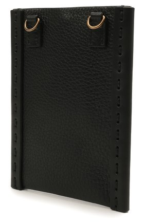 Чехол valentino garavani для iphone VALENTINO черного цвета, арт. VY0P0T04/VXY   Фото 2