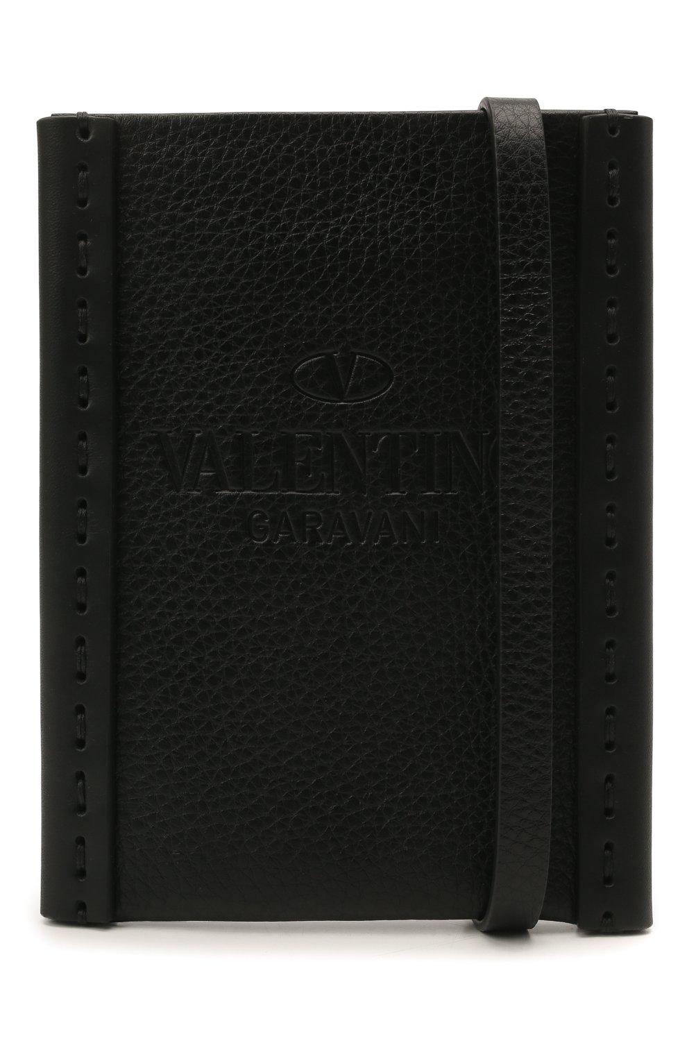 Чехол valentino garavani для iphone VALENTINO черного цвета, арт. VY0P0T04/VXY   Фото 3