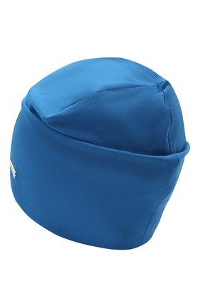 Детского хлопковая шапка IL TRENINO синего цвета, арт. 21 5272 | Фото 2
