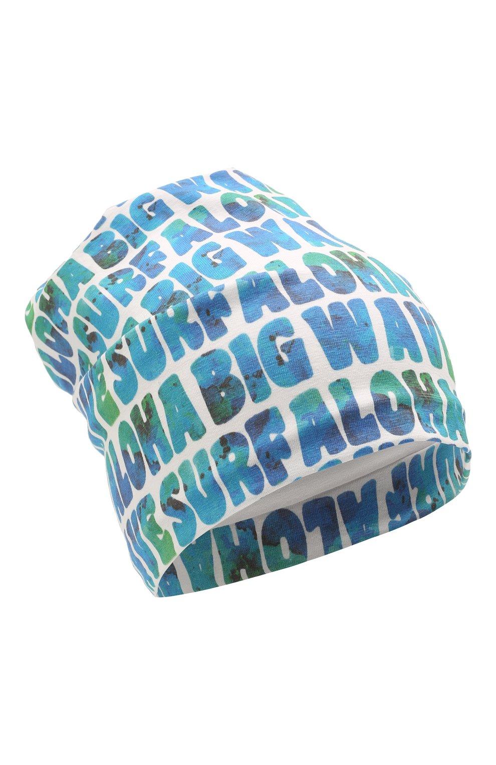 Детского хлопковая шапка IL TRENINO разноцветного цвета, арт. 21 5270   Фото 1 (Материал: Текстиль, Хлопок)