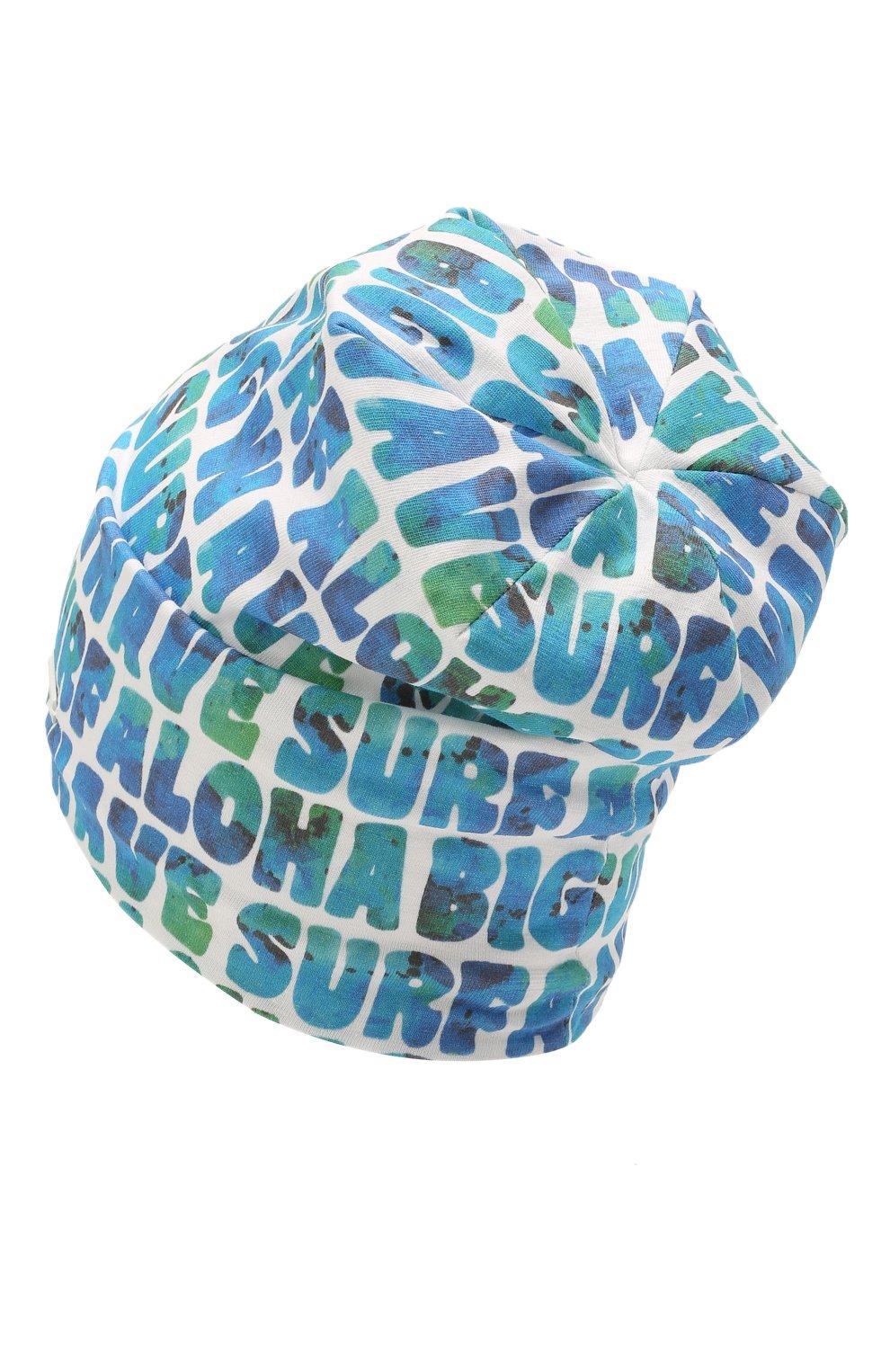 Детского хлопковая шапка IL TRENINO разноцветного цвета, арт. 21 5270   Фото 2 (Материал: Текстиль, Хлопок)