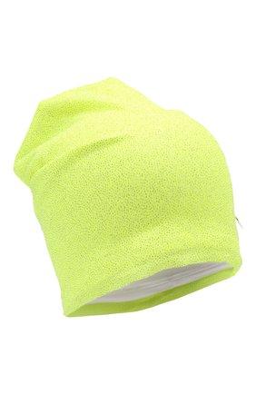 Детского хлопковая шапка IL TRENINO салатового цвета, арт. 21 5239 | Фото 1