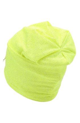 Детского хлопковая шапка IL TRENINO салатового цвета, арт. 21 5239 | Фото 2
