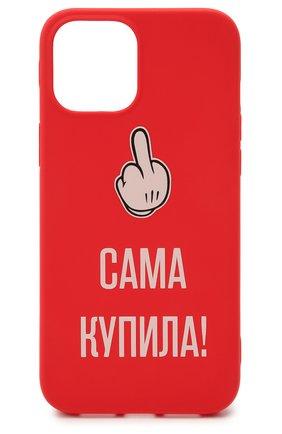 Мужской чехол для iphone 12 pro max MISHRABOO красного цвета, арт. Сама купила 12 Pro Max | Фото 1