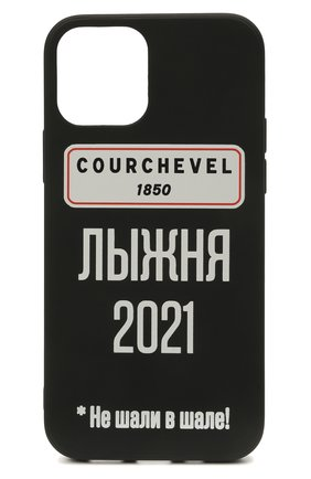Чехол для iphone 12/12 pro MISHRABOO черного цвета, арт. Courchevel 12/12 Pro   Фото 1