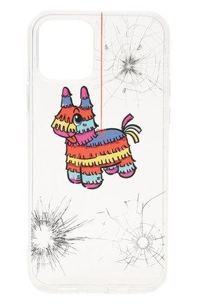 Чехол для iphone 12/12 pro MISHRABOO прозрачного цвета, арт. Horse 12/12 Pro   Фото 1
