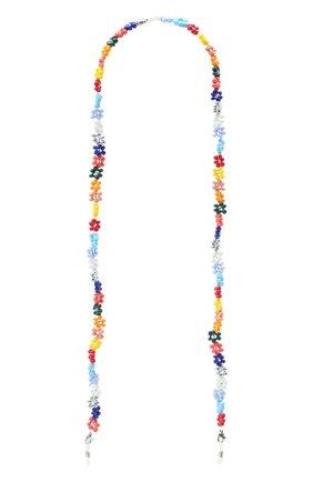 Женские цепочка для очков HIAYNDERFYT разноцветного цвета, арт. 1401.006 | Фото 1
