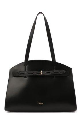 Женская сумка margherita FURLA черного цвета, арт. WB00177/A.0029   Фото 1