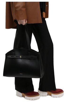 Женская сумка margherita FURLA черного цвета, арт. WB00177/A.0029   Фото 2