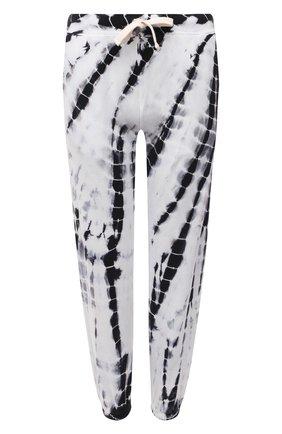 Женские хлопковые джоггеры ELECTRIC&ROSE черно-белого цвета, арт. LFBT20-AMBIENT | Фото 1