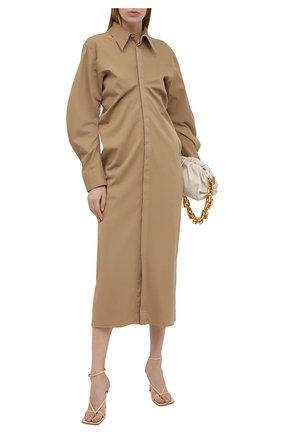 Платье из хлопка и шелка | Фото №2