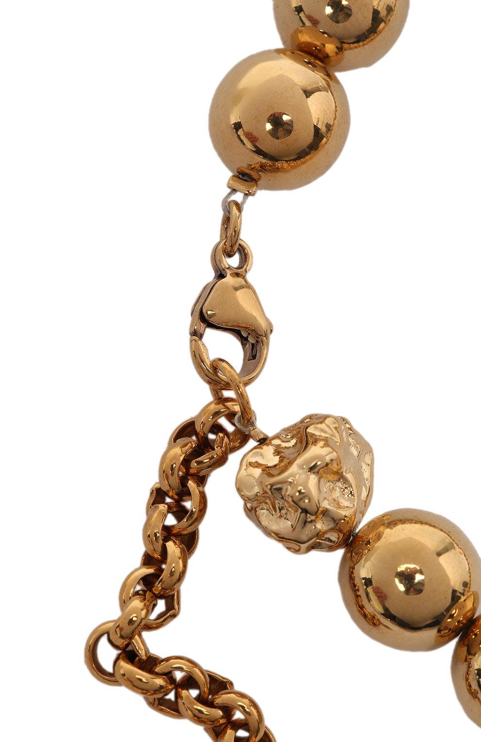 Женское колье CHLOÉ золотого цвета, арт. CHC21SF069CB7 | Фото 3
