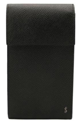 Чехол для iphone SERAPIAN черного цвета, арт. SREVLMSL716310A | Фото 1