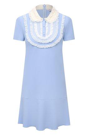Женское платье REDVALENTINO голубого цвета, арт. VR3VAX85/5MD | Фото 1