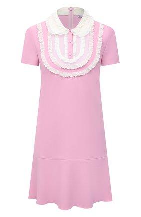 Женское платье REDVALENTINO светло-розового цвета, арт. VR3VAX85/5MD | Фото 1