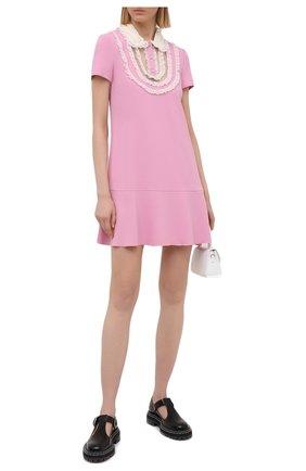 Женское платье REDVALENTINO светло-розового цвета, арт. VR3VAX85/5MD | Фото 2