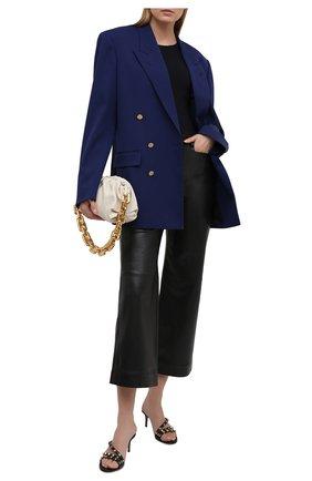 Женские кожаные мюли rockstud VALENTINO черного цвета, арт. VW2S0Y92/V0D   Фото 2