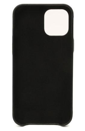 Чехол для iphone 12 pro max VETEMENTS черного цвета, арт. UE51SA170B 2471/M/BLACK NEXT PR0 MAX | Фото 2