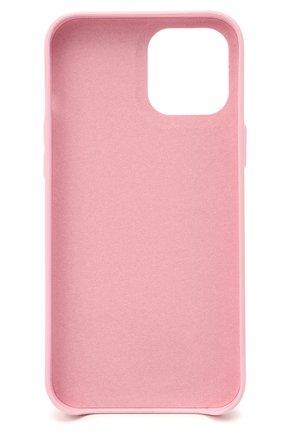 Чехол для iphone 12 pro max VETEMENTS розового цвета, арт. UE51SA270P 2471/W/BABY PINK NEXT PR0 MAX | Фото 2