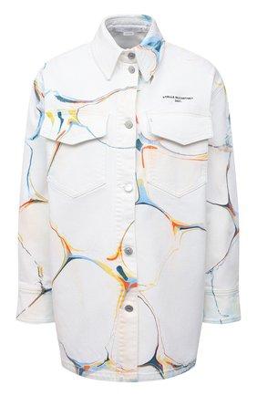 Женская джинсовая куртка STELLA MCCARTNEY белого цвета, арт. 602921/S0H25 | Фото 1