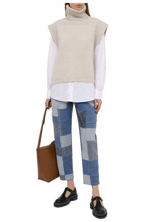 Женские джинсы STELLA MCCARTNEY синего цвета, арт. 602563/S0H23 | Фото 2