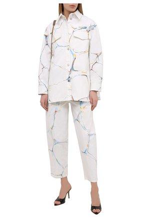 Женские джинсы STELLA MCCARTNEY белого цвета, арт. 602559/S0H25 | Фото 2