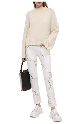 Женские джинсы STELLA MCCARTNEY белого цвета, арт. 372773/S0H25 | Фото 2
