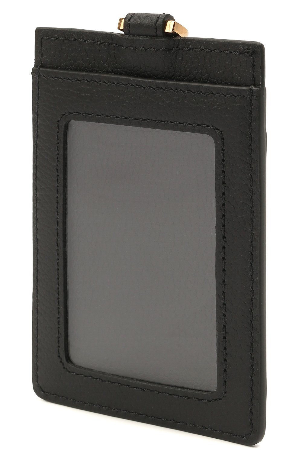 Женский кожаный футляр для кредитных карт la medusa VERSACE черного цвета, арт. DP3I100/DVIT5T | Фото 2