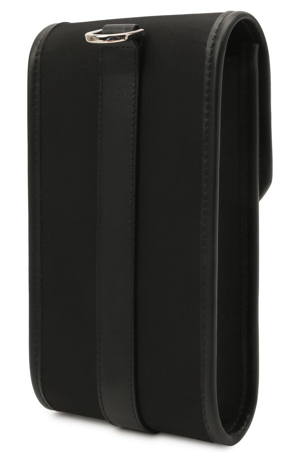 Текстильный чехол для iphone VERSACE черного цвета, арт. DP88431/DNY24 | Фото 2