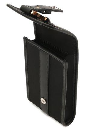 Текстильный чехол для iphone VERSACE черного цвета, арт. DP88431/DNY24 | Фото 3