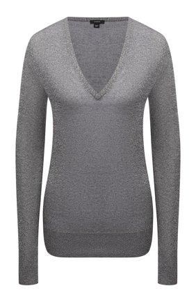 Женский пуловер JOSEPH темно-серого цвета, арт. JF005176 | Фото 1