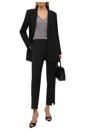 Женский пуловер JOSEPH темно-серого цвета, арт. JF005176 | Фото 2