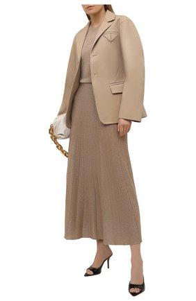 Женская юбка JOSEPH золотого цвета, арт. JF005178 | Фото 2