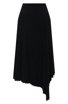 Женская плиссированная юбка JOSEPH черного цвета, арт. JF005241 | Фото 1