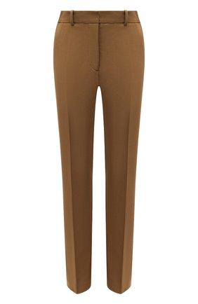 Женские брюки из вискозы и хлопка JOSEPH бежевого цвета, арт. JP001070 | Фото 1 (Материал внешний: Вискоза, Хлопок; Длина (брюки, джинсы): Удлиненные; Женское Кросс-КТ: Брюки-одежда; Силуэт Ж (брюки и джинсы): Узкие)