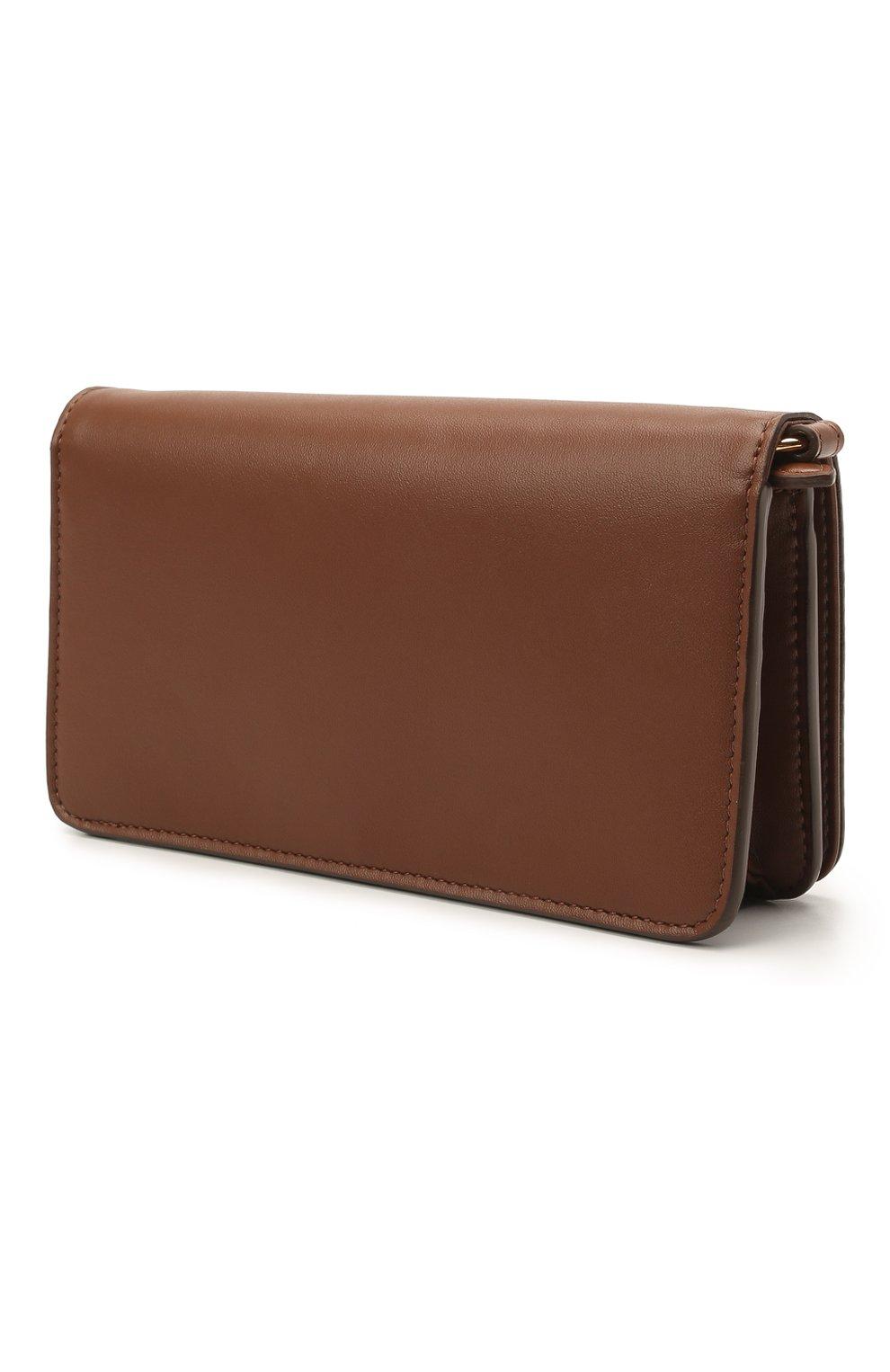 Женская сумка stella logo mini STELLA MCCARTNEY коричневого цвета, арт. 700134/W8542 | Фото 3