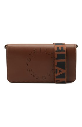 Женская сумка stella logo mini STELLA MCCARTNEY коричневого цвета, арт. 700134/W8542 | Фото 5