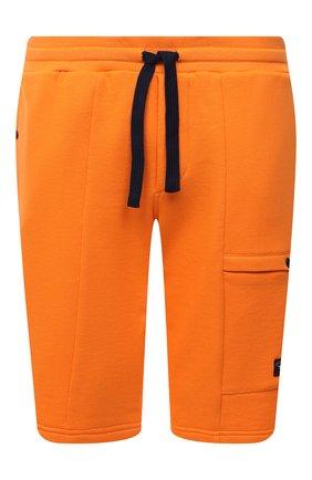 Мужские хлопковые шорты PAUL&SHARK оранжевого цвета, арт. 21411883/C00/3XL-6XL | Фото 1