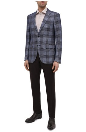 Мужская сорочка из хлопка и льна VAN LAACK бежевого цвета, арт. RIVARA-S-TF/160006 | Фото 2